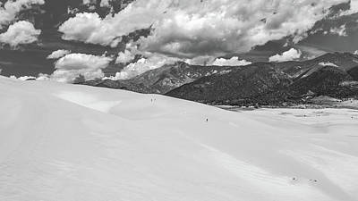 Photograph - Great_sand_dunes_np13bw by Kent Nancollas