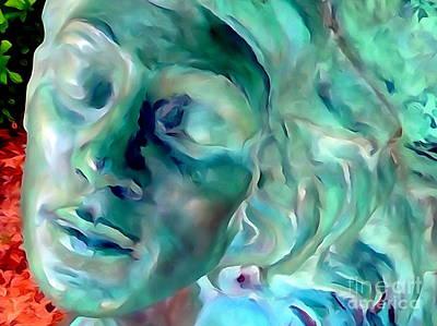 Digital Art - Grecian Goddess #2 by Ed Weidman