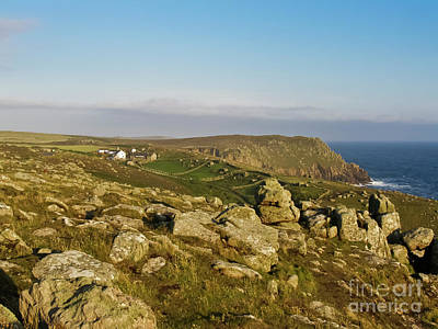 Photograph - Greeb Farm Land's End Cornwall by Terri Waters