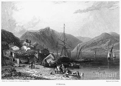 Greece: Ithaca, 1832 Art Print by Granger