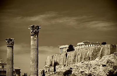 Zeus Photograph - Greece Of Dreams by Pavlos Euthymiou