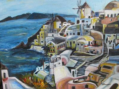 Painting - Greek Dreams by Denice Palanuk Wilson