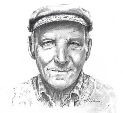 Drawing - Greek Fisherman by Jacki Kellum