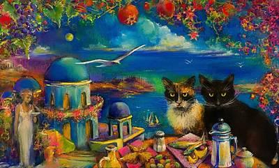 Greek Holiday Original by Paul Birchak