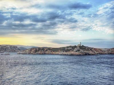 Skiathos Photograph - Greek Island Seascape by Tom Gowanlock