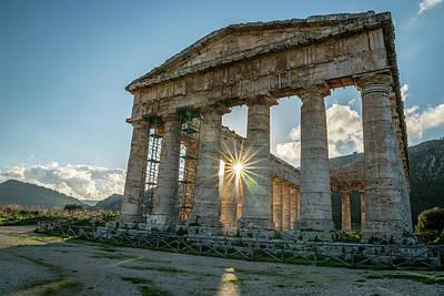 Photograph - Greek Temple At Segesta by Michael Thomas