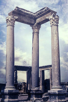 Greek Temple Photograph - Greek Temple by Joana Kruse