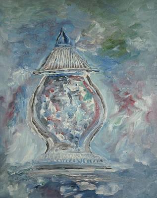 Greek Urn Art Print by Edward Wolverton