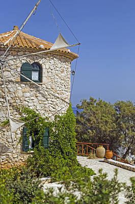 Photograph - Greek Windmill by Rainer Kersten
