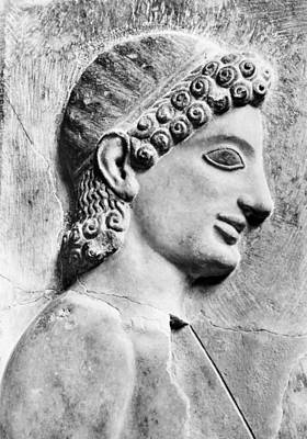 Photograph - Greek Youth, 540-530 B.c. by Granger