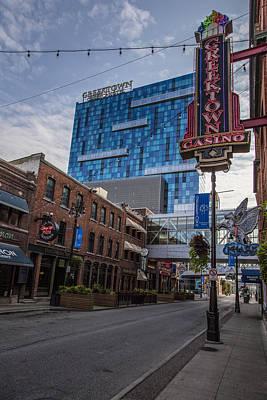 Photograph - Greektown Casino In Detroit 2 by John McGraw