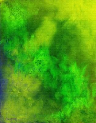 Green Abstract Original