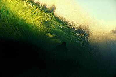 Photograph - Green And Black by Nik West