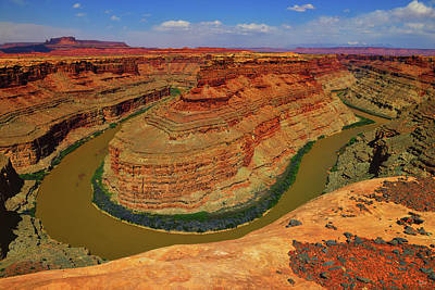 Photograph - Green And Colorado Rivers Confluence by Greg Norrell