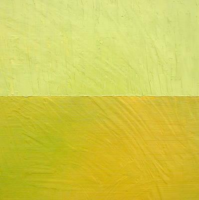 Stucco Painting - Green And Greenish by Michelle Calkins