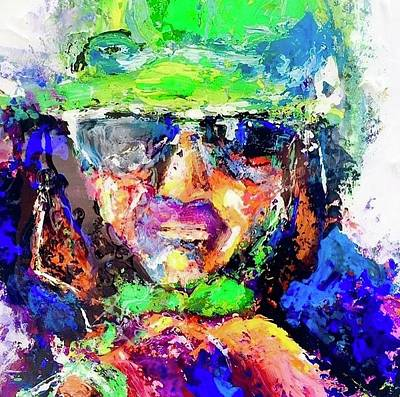 Painting - Green And Purple by Heather Roddy