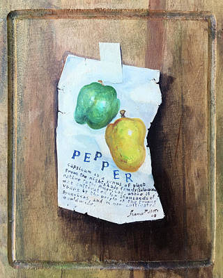 Green And Yellow Peppers Original