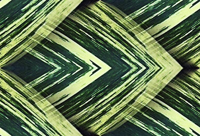 Photograph - Green Angles by Kristin Elmquist