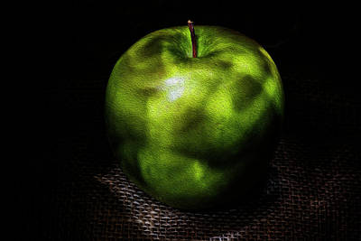 Photograph - Green Apple Digital Painting by Vishwanath Bhat