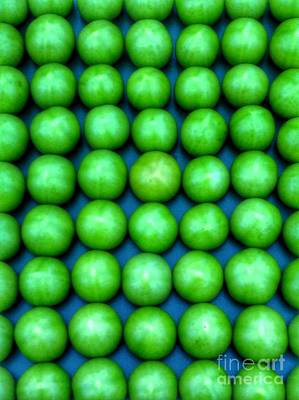 Photograph - Green Apples 2 by Joan-Violet Stretch