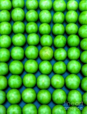 Photograph - Green Apples by Joan-Violet Stretch
