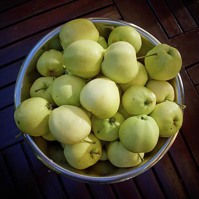 Photograph - Green Apples by Jouko Lehto