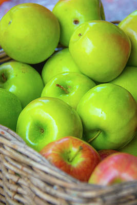 Photograph - Green Apples by Pamela Williams