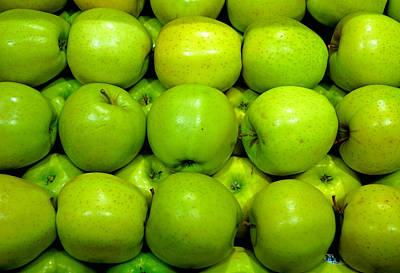 Photograph - Green Apples by Robert Meyers-Lussier