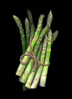 Photograph - Green Asparagus by Christian Slanec