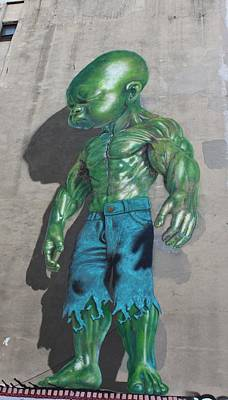 Photograph - Green Baby Hulk by Karen Silvestri