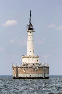 Nikki Vig Royalty-Free and Rights-Managed Images - Green Bay Harbor Entrance Lighthouse by Nikki Vig
