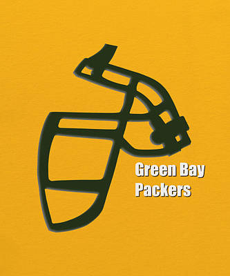 Green Bay Packers Retro Art Print by Joe Hamilton