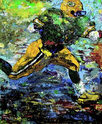 Digital Art - Green Bay Packers by Walter Fahmy