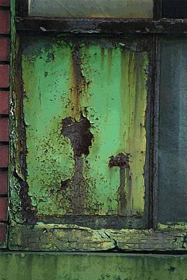 Vandalize Photograph - Green Beauty by Sandra Church