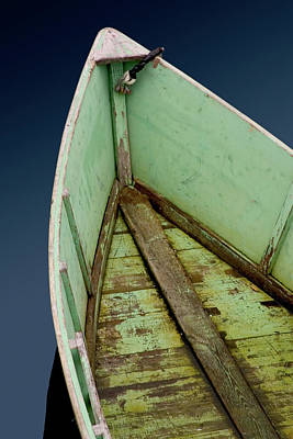 Photograph - Green Boat by Brent L Ander