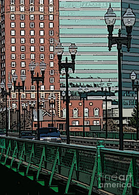 Photograph - Green Bridge by David Bearden