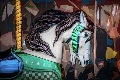 Photograph - Green Bridle 2 by Michael Arend