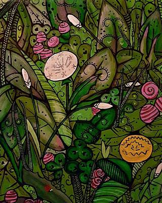 Painting - Green by Carole Hutchison