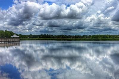 Photograph - Green Cay Blues Boynton Beach Florida  by Lawrence S Richardson Jr