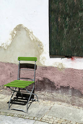 Photograph - Green Chair by Brooke T Ryan