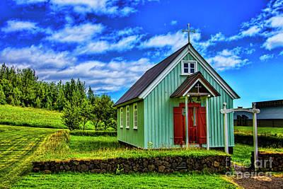 Photograph - Green Church by Rick Bragan