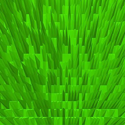 Architektur Digital Art - Green-city by Ramon Labusch