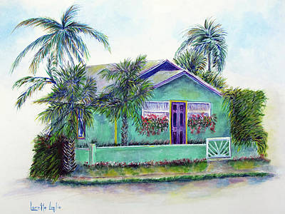Painting - Green Cottage by Loretta Luglio