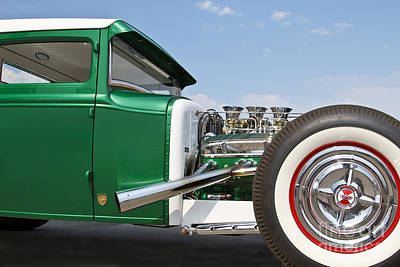 Photograph - Green Coupe by Dennis Hedberg