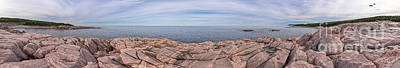 Photograph - Green Cove Panoramic by Jason Kolenda