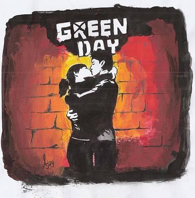 Green Day Art Print by Ajay Atroliya