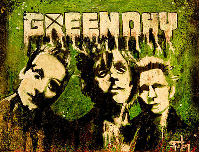 Green Day Art Print by Christopher Chouinard