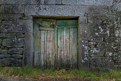 Photograph - Green Door 03 by Edgar Laureano