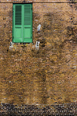 Photograph - Green Door by Chris Coffee