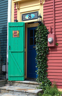 Photograph - Green  Door by Douglas Pike